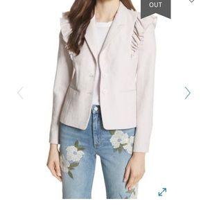 Rebecca Taylor Ruffled Stub jacket